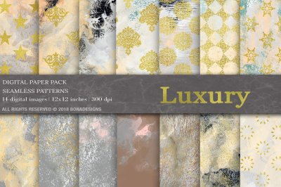 Luxury Textures Digital Paper