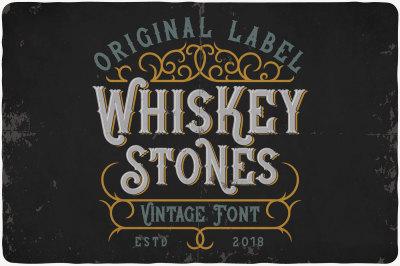 Whiskey Stones Typeface