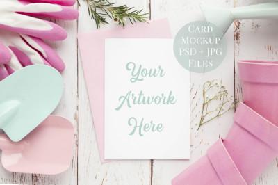 Card Mockup - 5