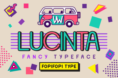 Lucinta Fancy Typeface