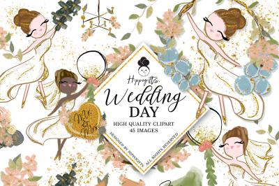 Wedding Clipart,Bridal Clipart