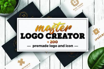 Master Logo Creator - Branding kit