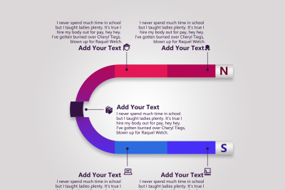 Elegant Colorful Infographic Template