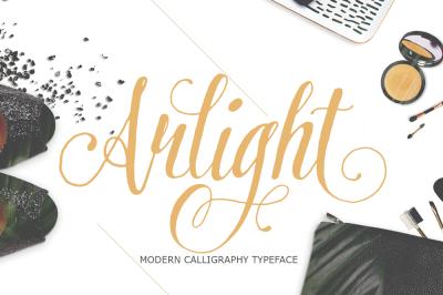 Arlight Script Font