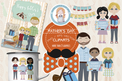 Father Day Cliparts