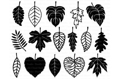 Leaf SVG, Leaves SVG files