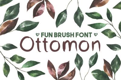 Ottomon Handwritten Brush Font
