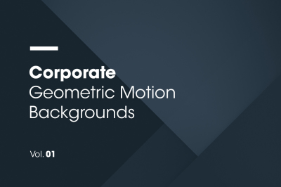 Corporate | Geometric Motion Backgrounds | Vol. 01