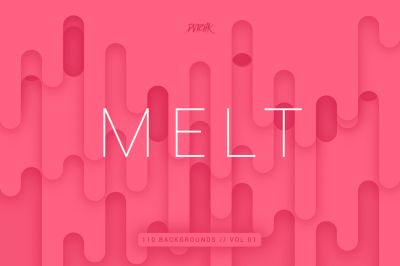 Melt | Abstract Rounded Backgrounds | Vol. 01