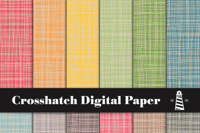 Colorful Crosshatch Backgrounds