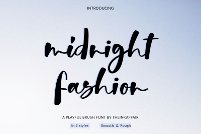 Midnight Fashion Font