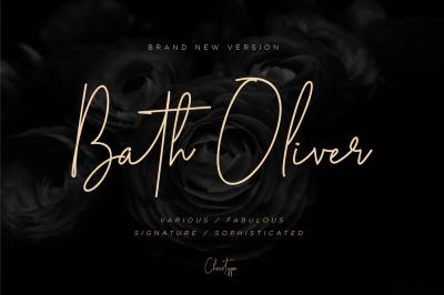 Bath Oliver Script