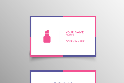 Colorful Beauty Business Card Template