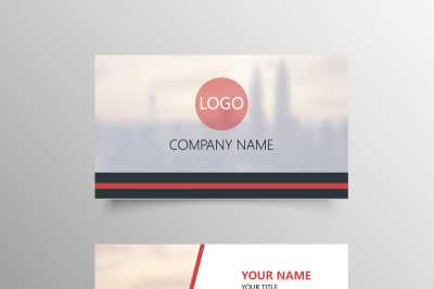 Modern Picture Business Card Template