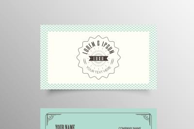 Elegant Pattern Business Card Template