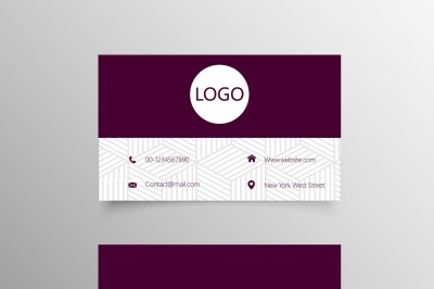 Professional Manager Business Card Template