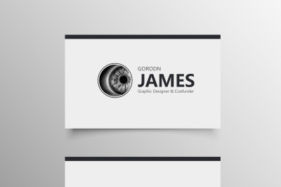 Simple Company Business Card Template