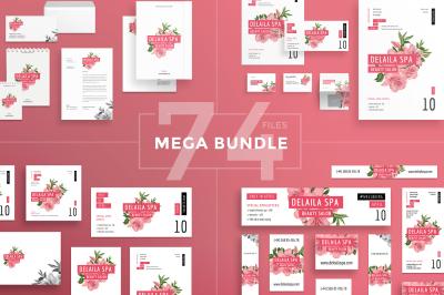 Design templates bundle | flyer, banner, branding | Beauty Salon