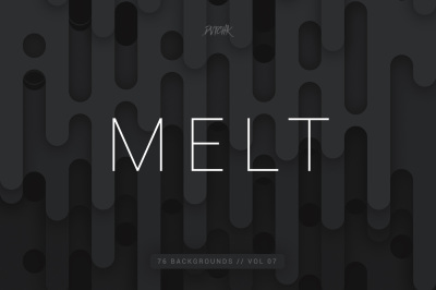 Melt | Abstract Rounded Backgrounds | Vol. 07