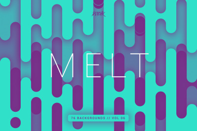 Melt | Abstract Rounded Backgrounds | Vol. 06