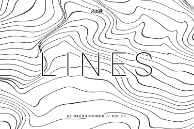Lines | Abstract Wavy Backgrounds | Vol. 01