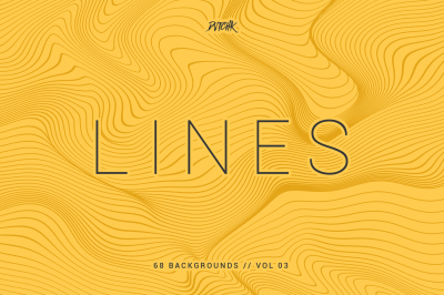Lines | Abstract Wavy Backgrounds | Vol. 03