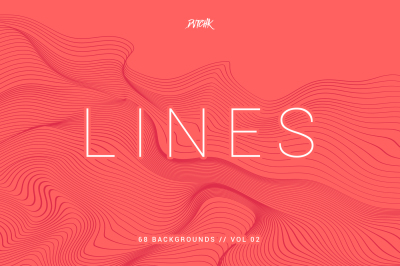 Lines | Abstract Wavy Backgrounds | Vol. 02