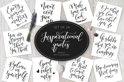 Inspirational Calligraphy Quotes