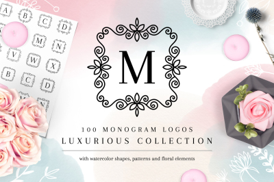 Luxurious Logos - Monogram Kit