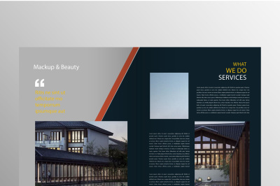 Clean Company Brochure Template