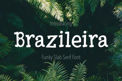 Brazileira - Slab Serif Font