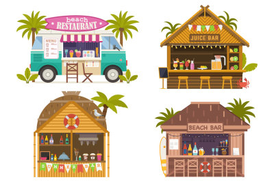 Summer Beach Bars and Restaurants