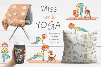 Yoga kid & dog collection