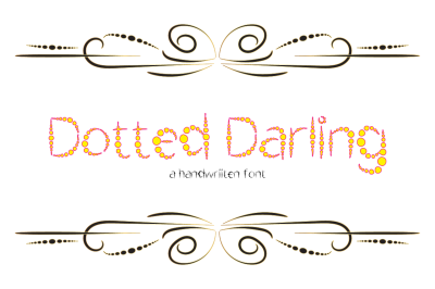 Dotted Darling Typeface 2018