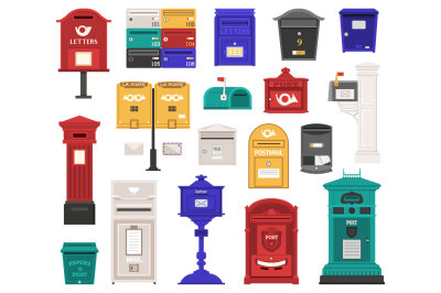Vintage Letterboxes and Postboxes