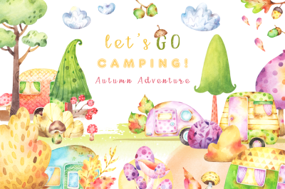 Camping Autumn Adventure collection