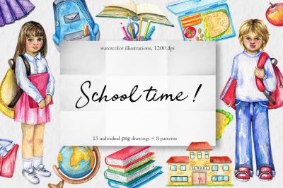 School time !