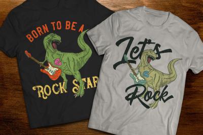 Tyrannosaur t-shirts and posters