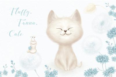 Fluffy, Funny, Cute
