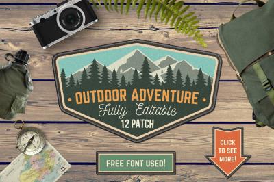 Outdoor Adventure Patch