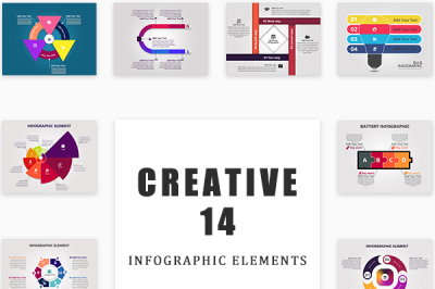 Creative Modern Infographic Elements