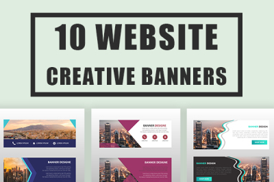 Creative Web Store Banner Template