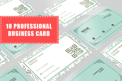 18 Professional Personal Business Cards Template