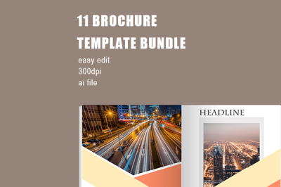 Elegant Comapny Brochure Template Bundle