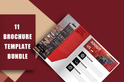 Modern Company Culture Brochure Template