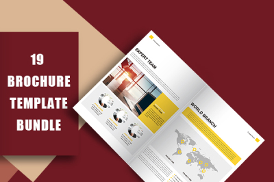 Yellow Professional Company Culture Brochure