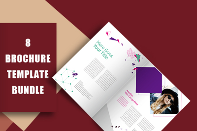 Fashion Company Profile Brochure Template