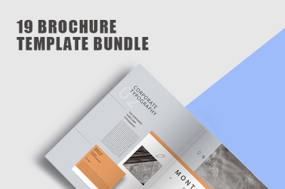Elegant Company Profile Brochure Template Bundle