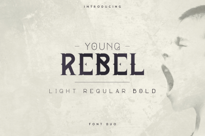 Young Rebel Font Duo -50%