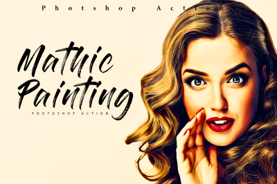 Mathic Painting Photoshop Action